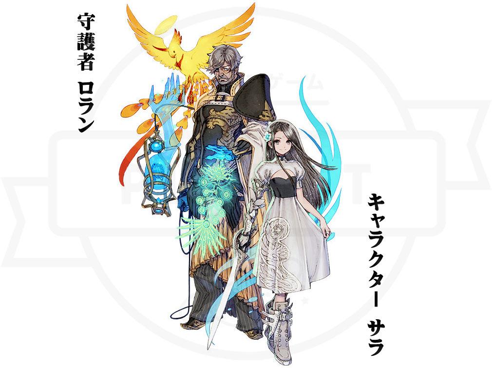 TERRA BATTLE2 (テラバトル2) PC 『キャラクター』+『守護者』を付けたセット形式バトル