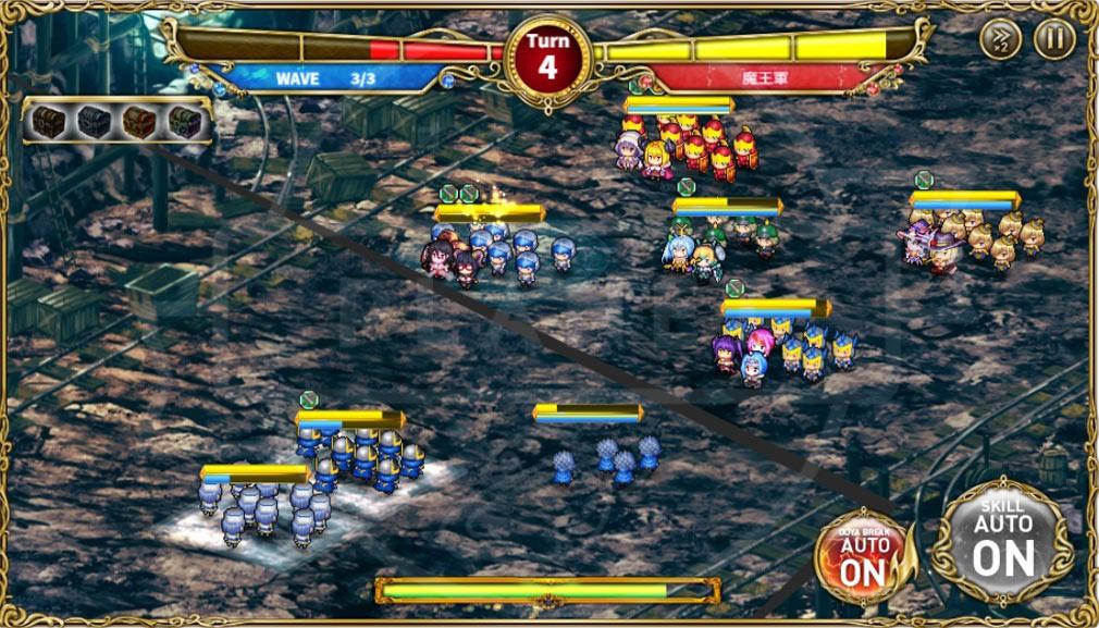 キルドヤ 意識高い系ワード擬人化RPG バトルスクリーンショット