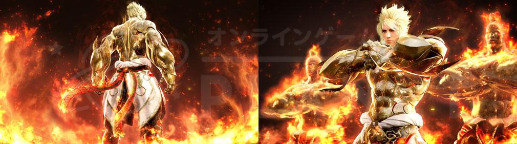 黒い砂漠 【格闘家】覚醒イメージ