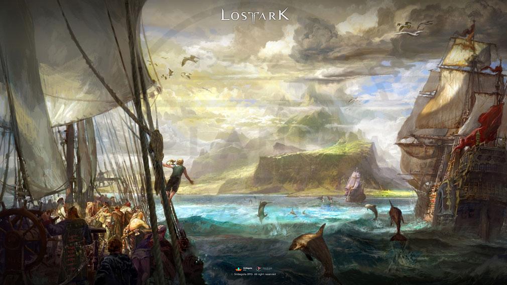 LOSTARK(ロストアーク) キービジュアル