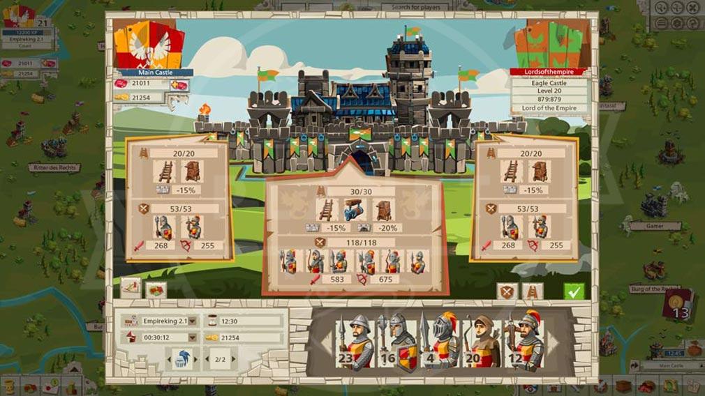 GOODGAME EMPIRE(グッドゲーム エンパイア) PC 50以上の異なる軍隊の作成