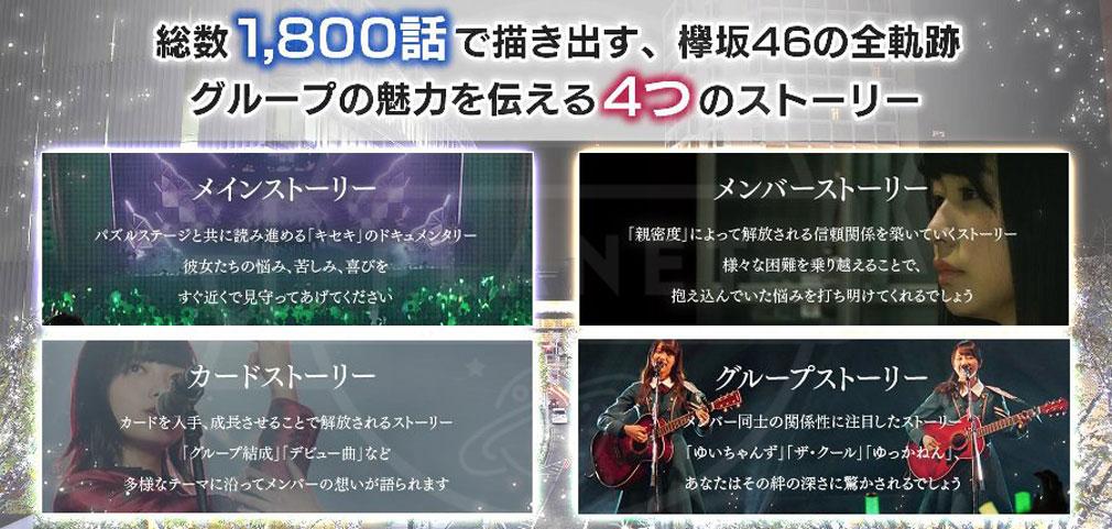 欅のキセキ(ケヤキセ) PC 様々なストーリー