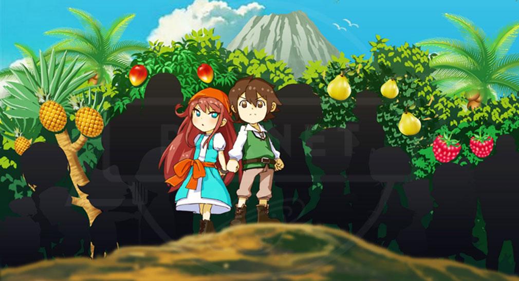 15少年漂流島 PC キャラクター画面