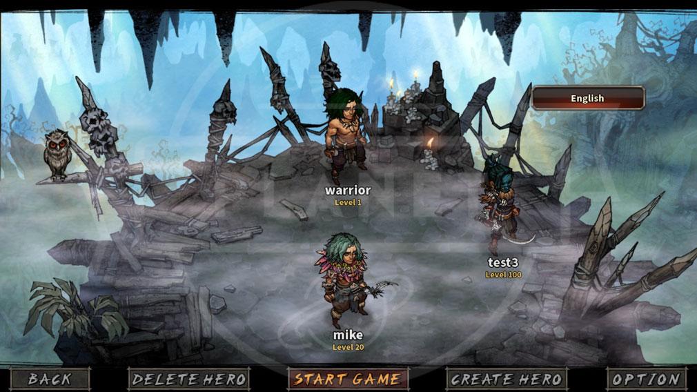 MAD WORLD(マッドワールド) キャラクター選択画面