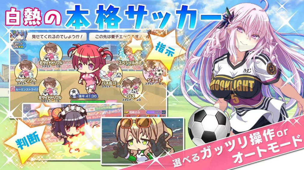 ビーナスイレブンびびっど!(びびび) PC サッカーリーグ戦の紹介画像
