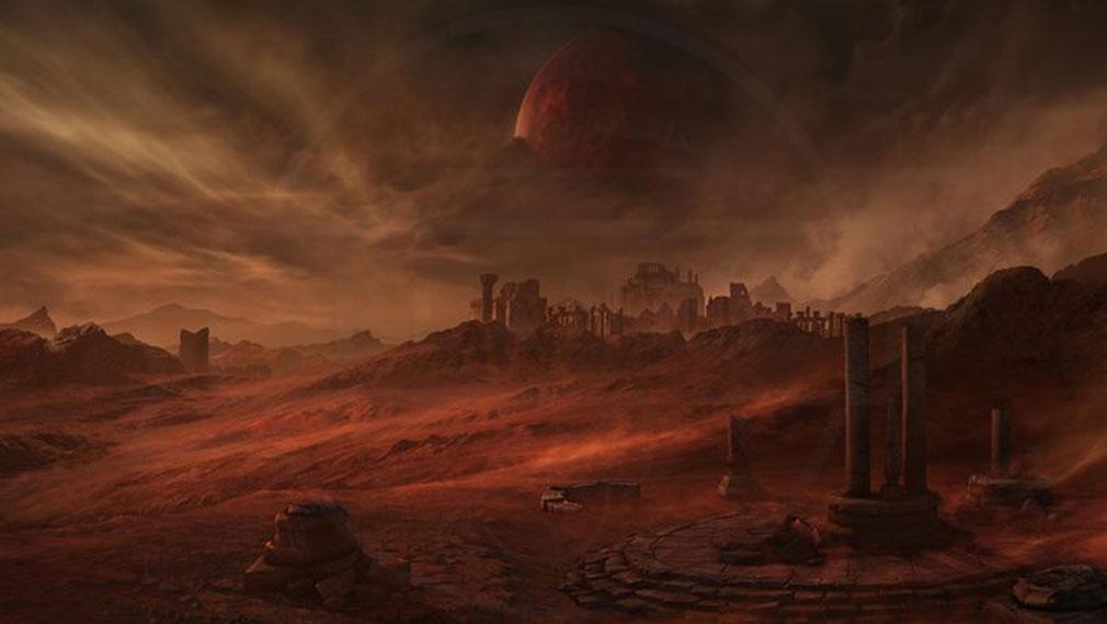 LOSTARK(ロストアーク) 惑星『ペトラニア』紹介イメージ