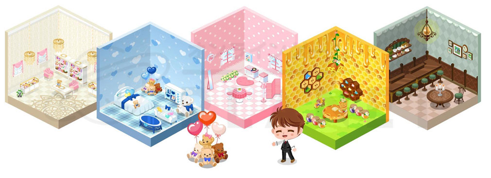 スマホアプリ『ぼくのレストラン3DX』ゲーム紹介