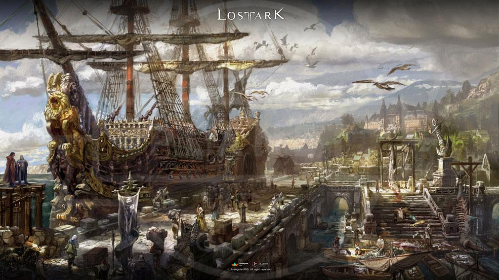 LOSTARK(ロストアーク) ルーテラン港のアートワーク