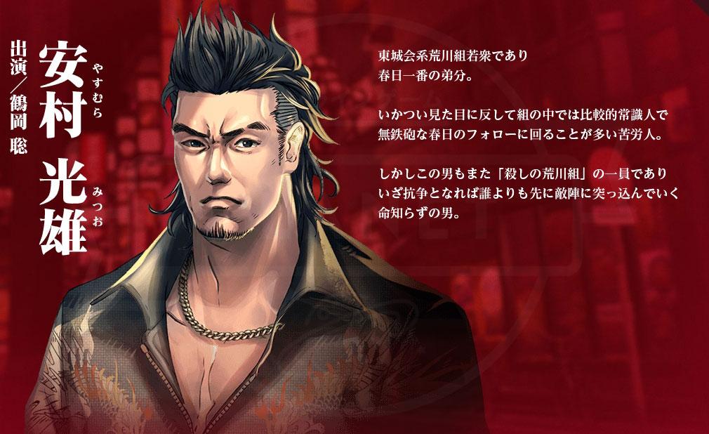 龍が如く ONLINE(オンライン) PC キャラクター『安村 光雄』イメージ