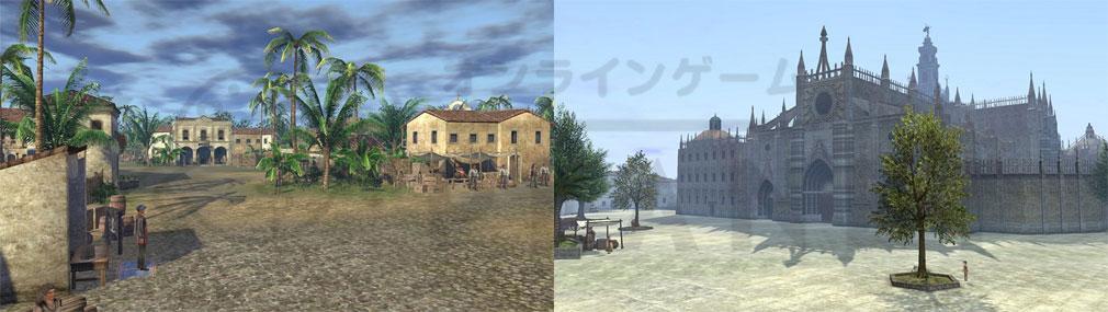 大航海時代 Online ゲームのグラフィックスやオブジェクト
