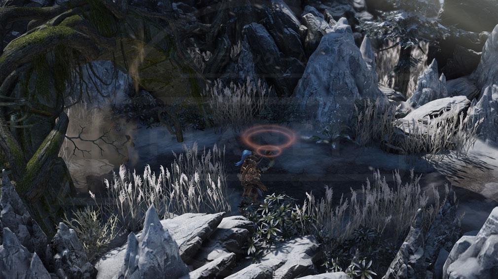 LOSTARK(ロストアーク) 『狩猟』と『考古学』システムの音波探知中スクリーンショット