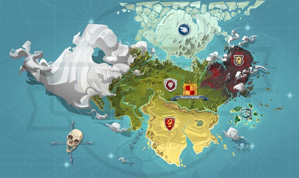 GOODGAME EMPIRE(グッドゲーム エンパイア) PC ワールドマップ