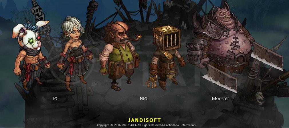 MAD WORLD(マッドワールド) キャラクターデザイン