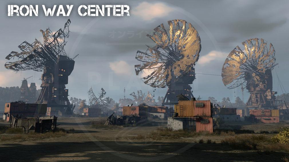 CROSSOUT(クロスアウト) PC エリアMAP『iron way center』スクリーンショット