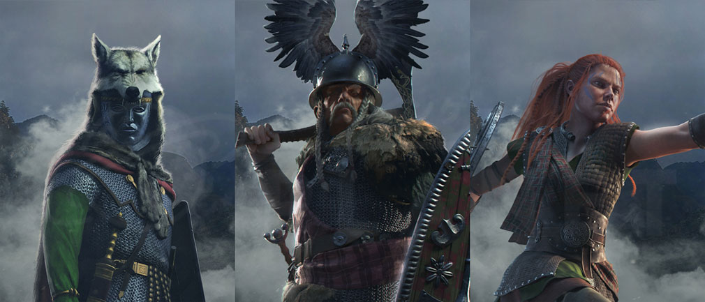 Total War ARENA(TWA) バーバリアン/蛮族(Barbarian)勢力に属する英雄ルミニウス、ウェルキンゲトリクス、ブーディカ