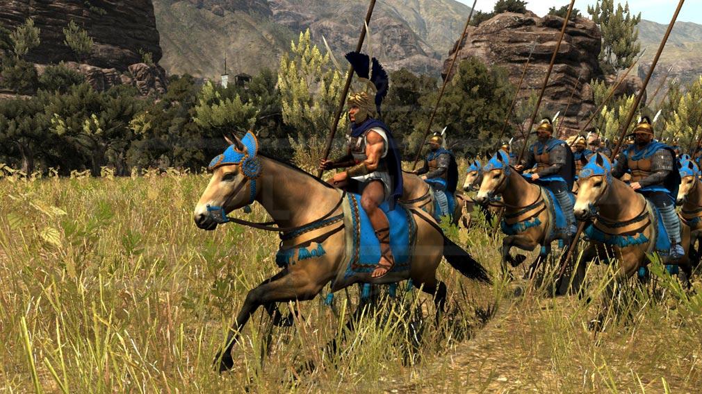 Total War ARENA(TWA) 英雄キャラクター『アレクサンドロス大王』スクリーンショット