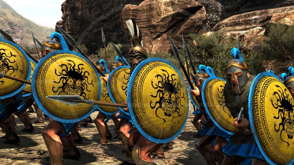 Total War ARENA(TWA) 英雄キャラクター『レオニダス王』スクリーンショット