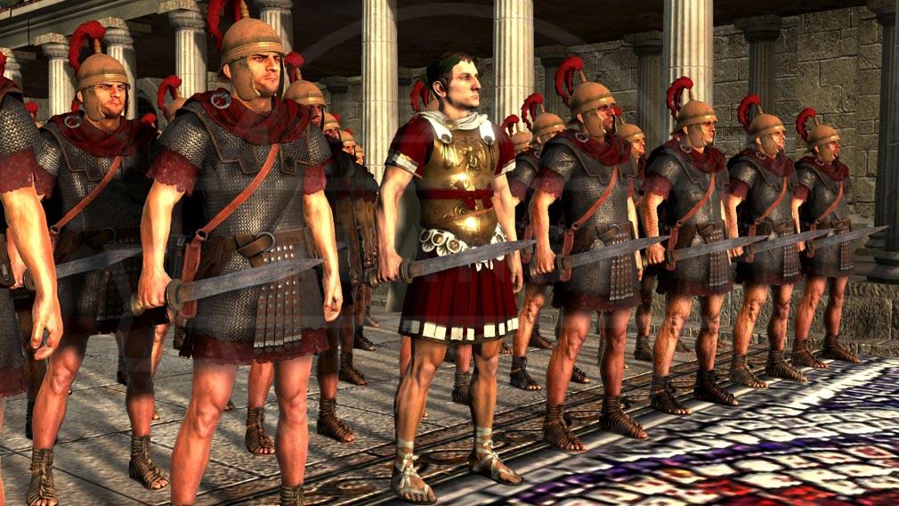 Total War ARENA(TWA) 英雄キャラクター『ユリウス・カエサル』スクリーンショット