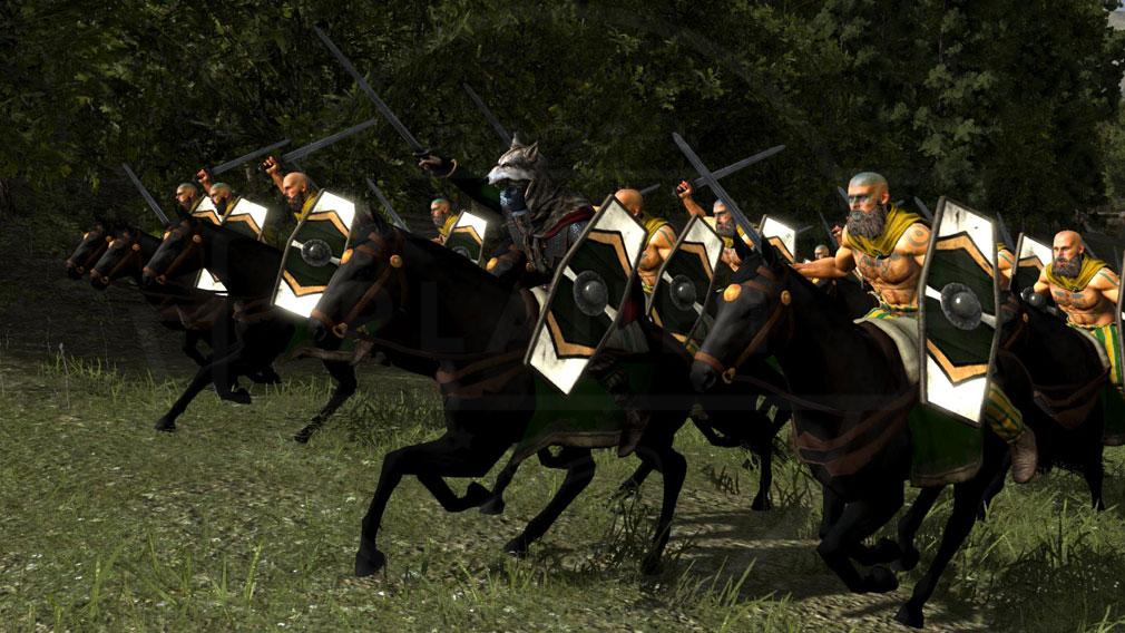Total War ARENA(TWA) 英雄キャラクター『アルミニウス』スクリーンショット