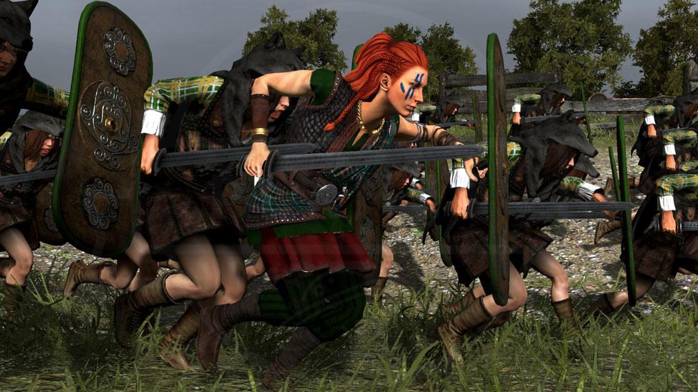 Total War ARENA(TWA) 英雄キャラクター『ブーディカ』スクリーンショット