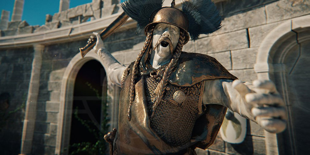 Total War ARENA(TWA) 英雄キャラクター『ウェルキンゲトリクス』スクリーンショット