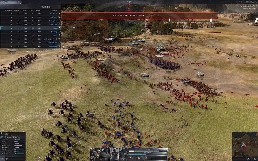 Total War ARENA(TWA) バトルスクリーンショット