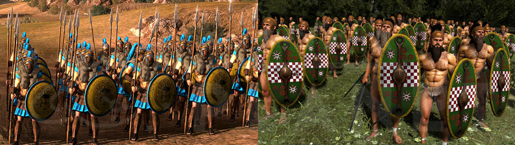 Total War ARENA(TWA) ギリシア、蛮族歩兵 近接スクリーンショット