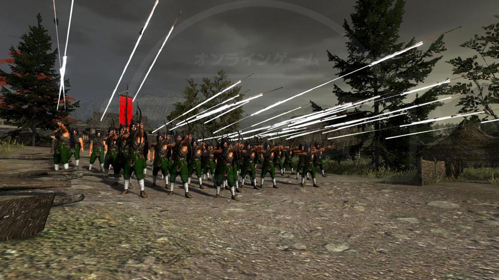 Total War ARENA(TWA) 蛮族歩兵 遠距離スクリーンショット