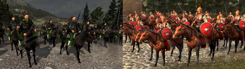 Total War ARENA(TWA) ローマ、蛮族騎兵スクリーンショット
