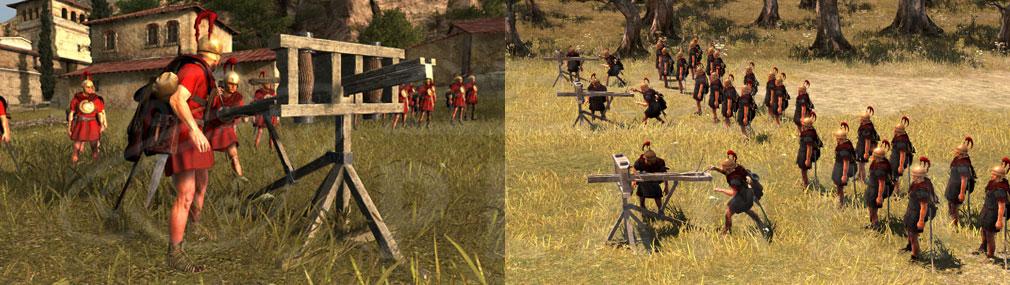 Total War ARENA(TWA) ローマ投射兵器SCORPION、CHEIROBALLISTRA