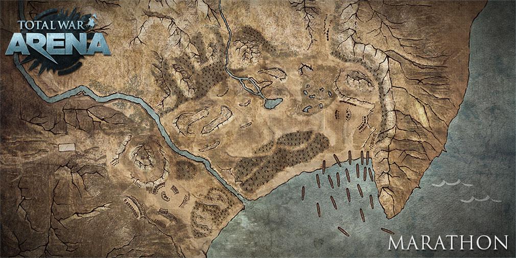 Total War ARENA(TWA) フィールドマップ『マラトン』
