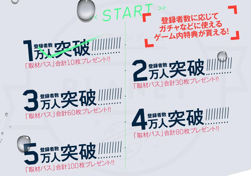 SIX SICKS(シックスシックス) PC 事前登録キャンペーン特典
