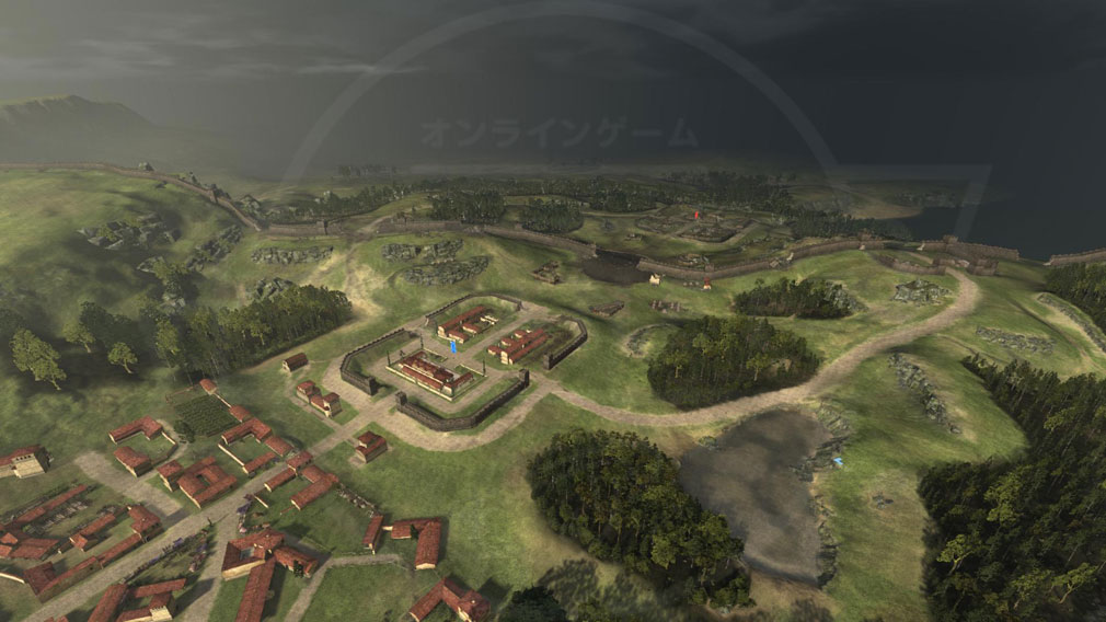 Total War ARENA(TWA) ハドリアヌスの長城スクリーンショット