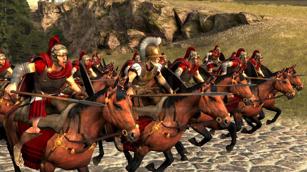 Total War ARENA(TWA) ローマ(Roma)勢力のユニット/軍勢スクリーンショット