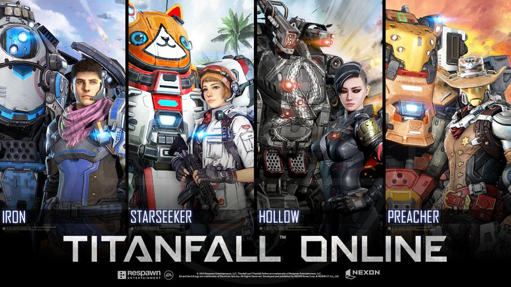 TITANFALL ONLINE(タイタンフォールオンライン) TFO 巨大搭乗ロボットタイタンとパイロットのイメージ