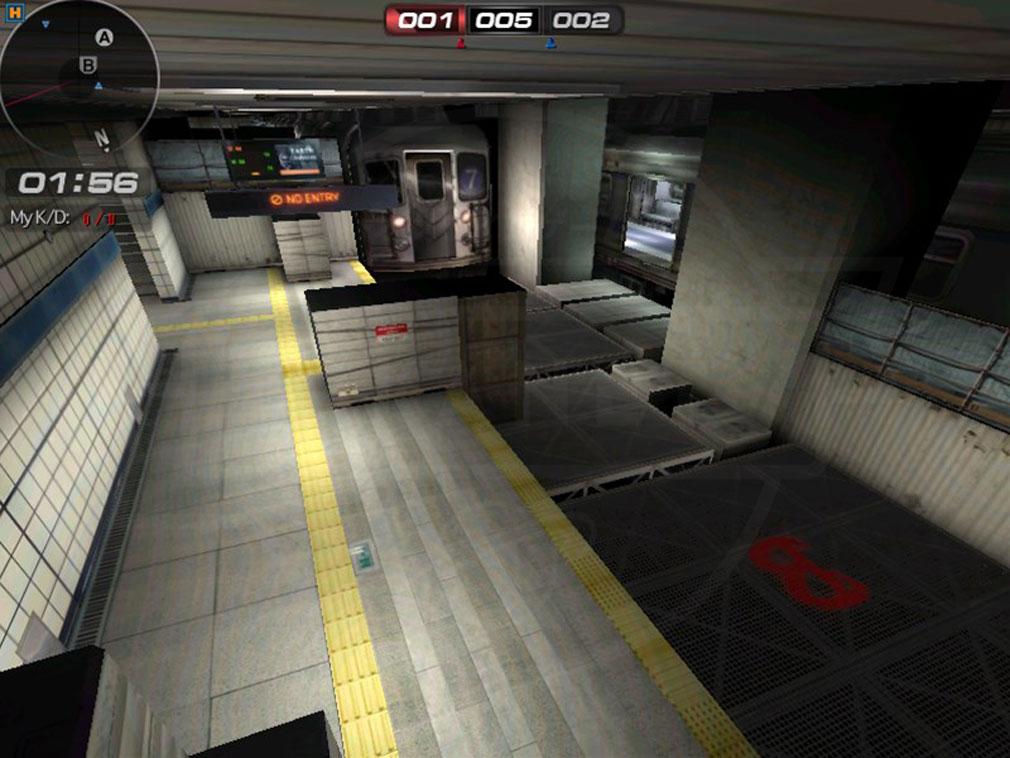 サドンアタック(SUDDEN ATTACK) SA1 チームデスマッチモードマップスクリーンショット