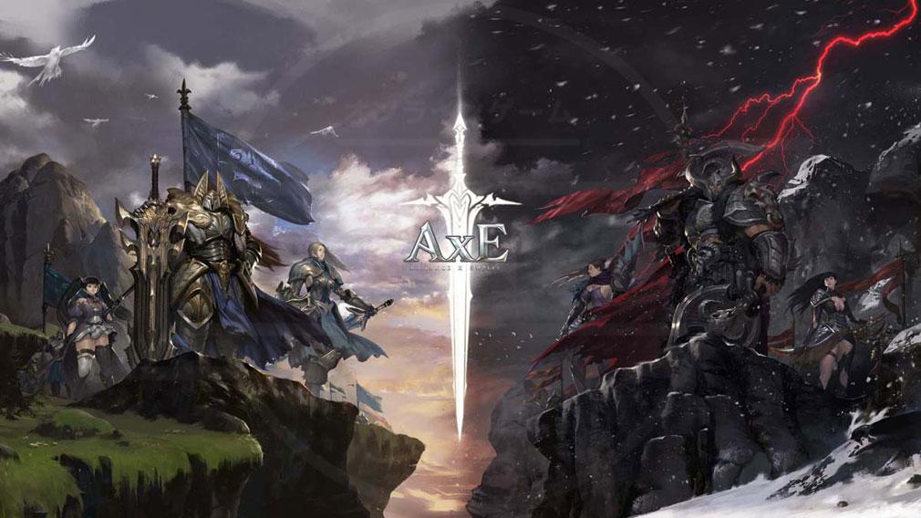 AxE Alliance X Empire(アックス) 『連合国ガラノス(Alliance)』対『神聖帝国ダルカン(Empire)』イメージ