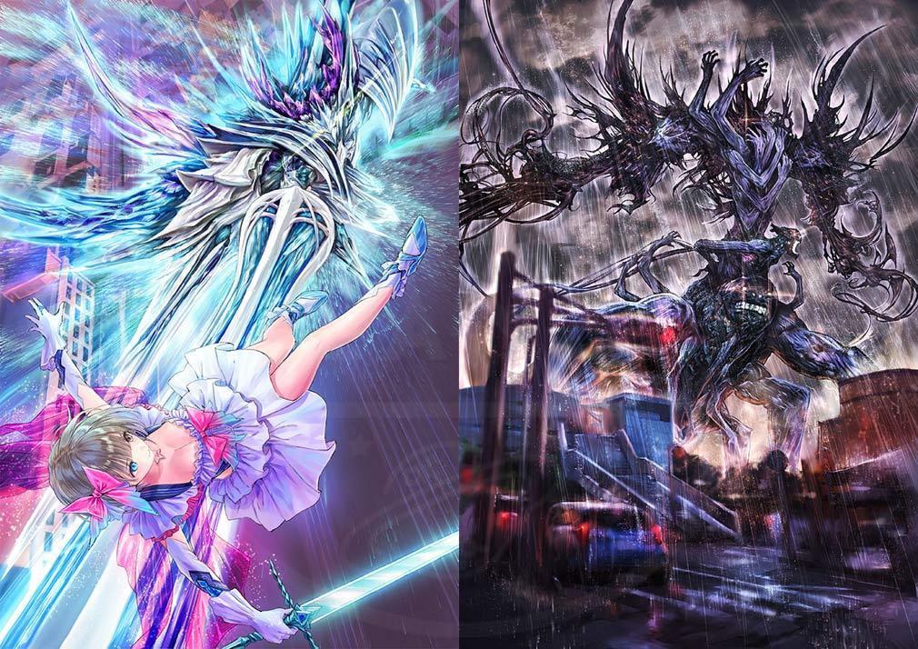 BLUE REFLECTION(ブルーリフレクション) 幻に舞う少女の剣 PC バトルアクションアートワーク