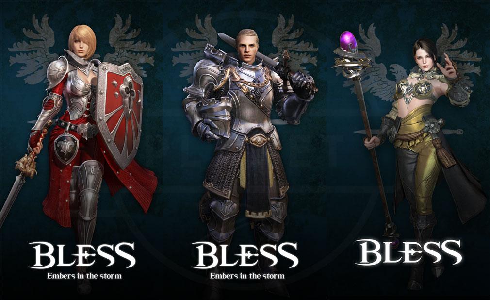 BLESS(ブレス) 日本 CBT2実装種族ハビヒッツ