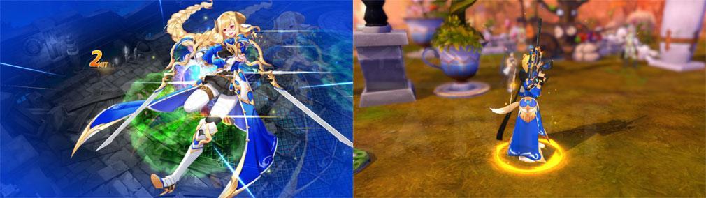 ArpieL(アルピエル) 『パルマ探索隊コスチューム』でのアクションスクリーンショット