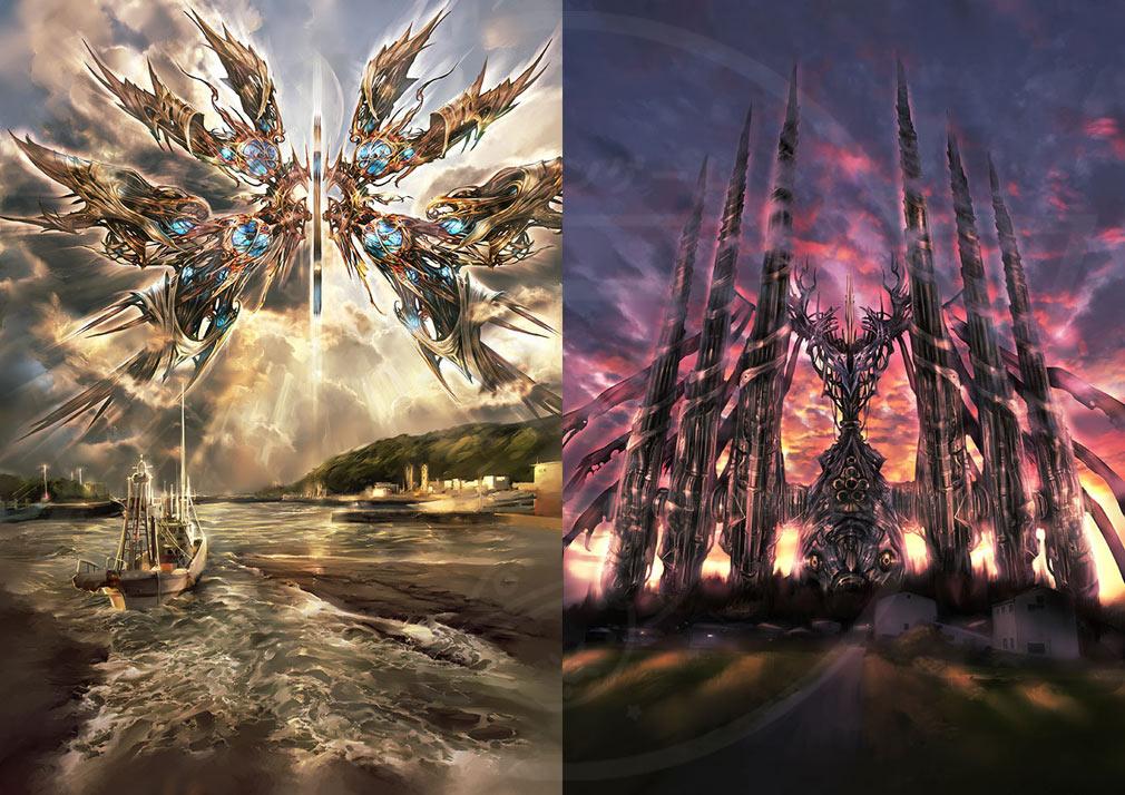 BLUE REFLECTION(ブルーリフレクション) 幻に舞う少女の剣 PC 世界観アートワーク