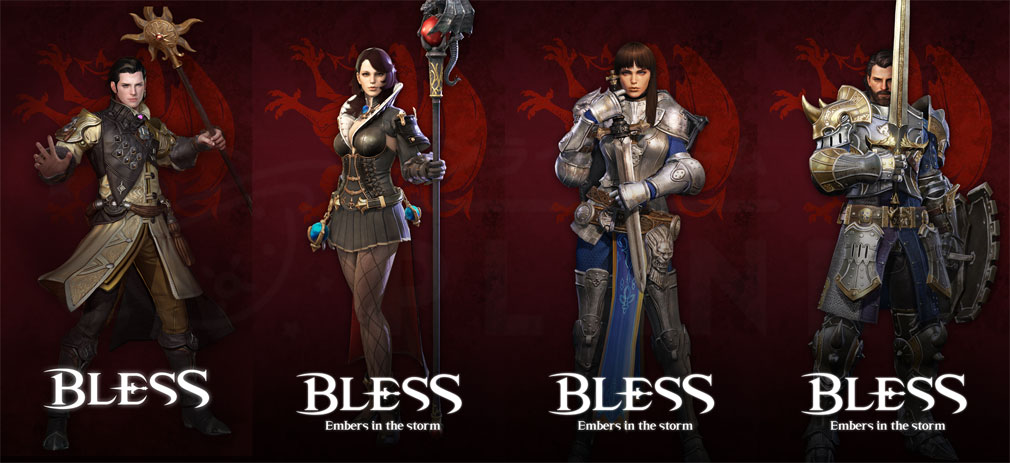 BLESS(ブレス) 日本 CBT2実装種族アミスタッド