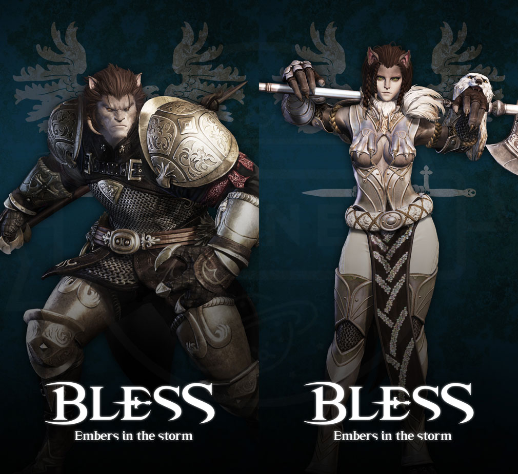BLESS(ブレス) 日本 CBT2実装種族ループス