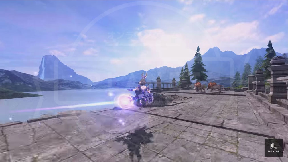 AxE Alliance X Empire(アックス) 魔法移動スクリーンショット