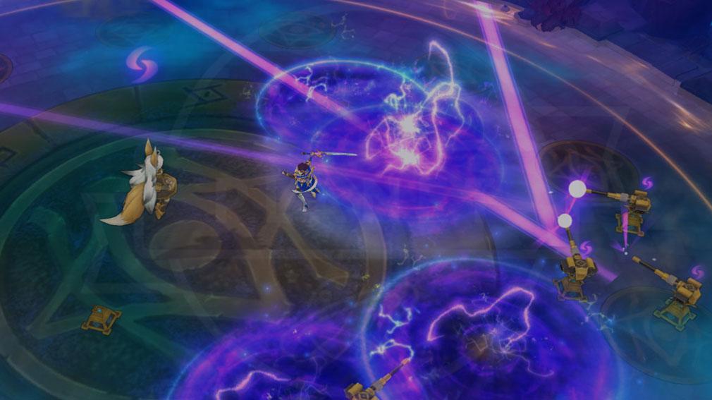 ArpieL(アルピエル) ルナのマグネティックボール発動バトルスクリーンショット