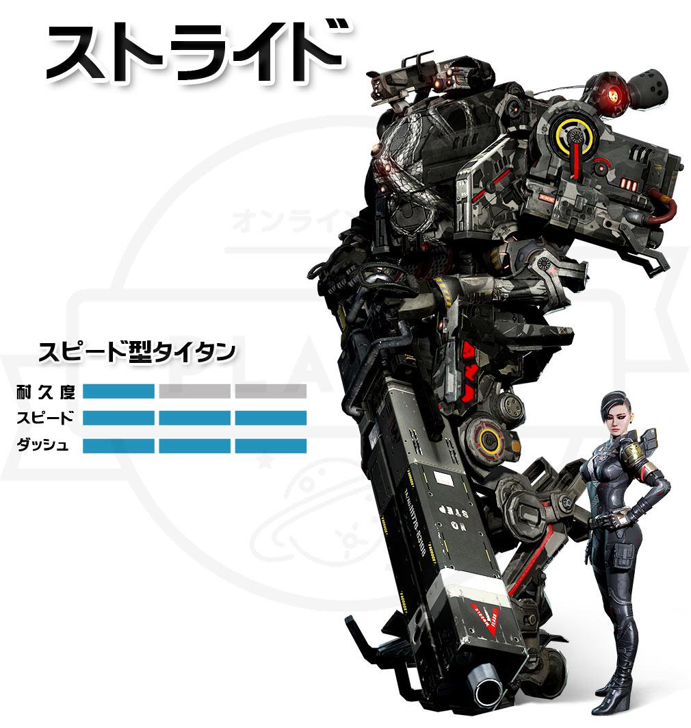 TITANFALL ONLINE(タイタンフォールオンライン) TFO スピード型【ストライド】
