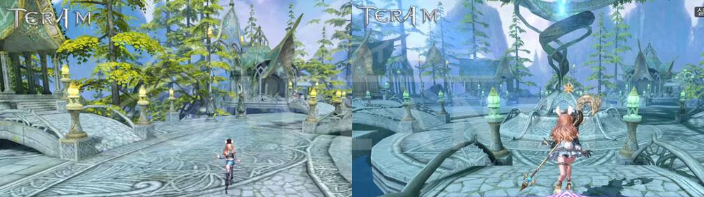 TERA M (テラM) フル3D視点のバックビューのズームアップ、ズームアウトスクリーンショット