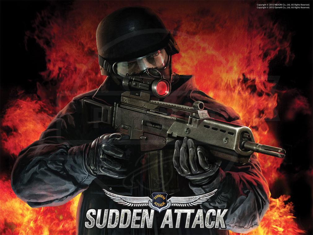 サドンアタック(SUDDEN ATTACK) SA1 ミリタリーFPSのキービジュアル