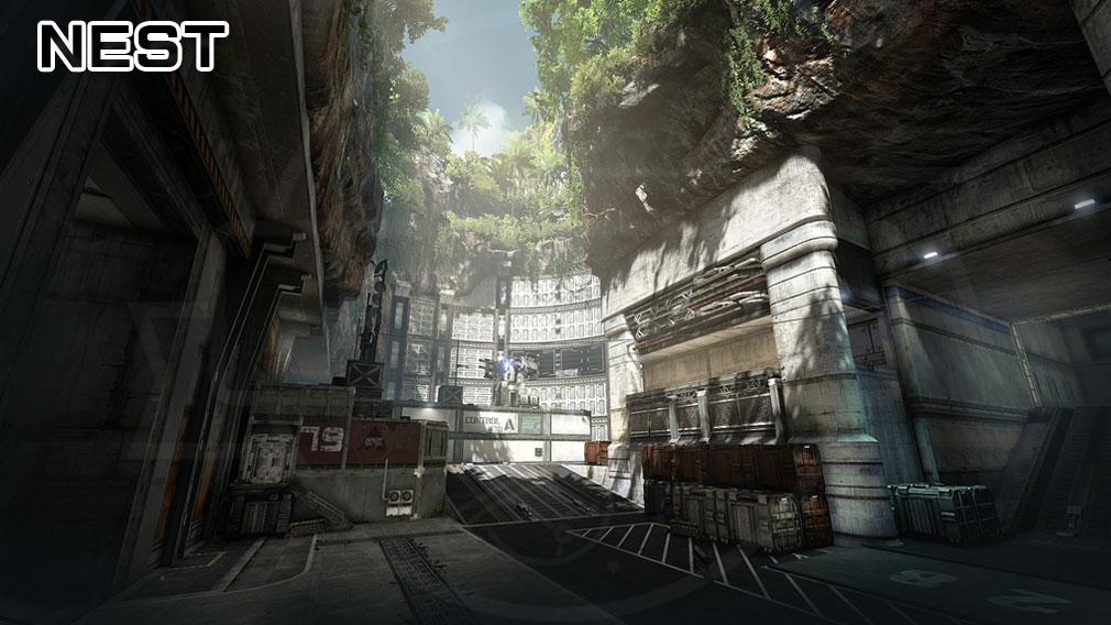 TITANFALL ONLINE(タイタンフォールオンライン) TFO 爆破ミッションモード『Nest』マップ