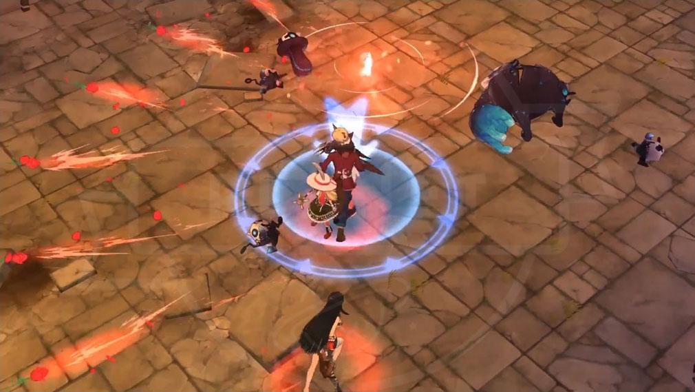 ArpieL(アルピエル) マウスモードバトルプレイスクリーンショット